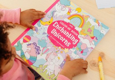 Color it Book-Enchanting Unicorns 8 x 10