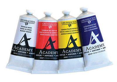 Academy Acrylic Warm Gray 3oz