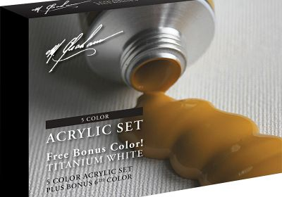M. Graham & Co. 2 fl. oz. (60 ml) Artists' Acrylic 6 Color Bonus Set