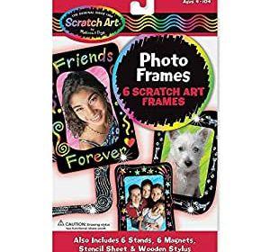 Scratch Art Photo Frames