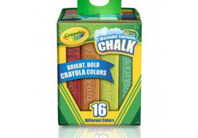 Crayola Washable Sidewalk Chalk 16ct
