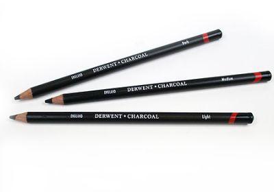 Derwent Charcoal Pencil Dark