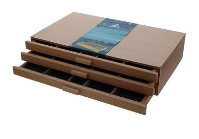 AA 3 drawer Pastel Storege