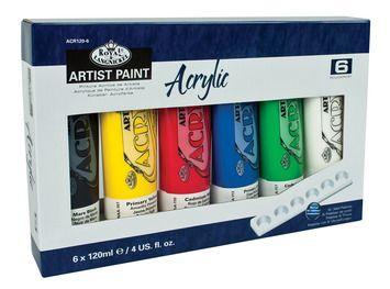 Royal 6 set acrylic