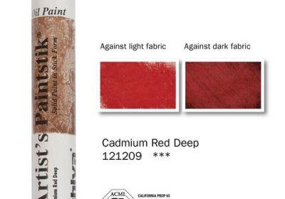 Shiva Artist's Paintstik Cad Red Deep