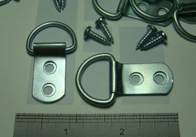 Moore 2 Hole D-Ring Hangers