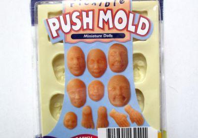 Flexi Push Molds Miniature Dolls