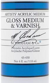M. Graham gloss medium