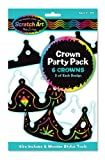 Scratch Art Crown Party Pack