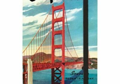 Cavallini San Francisco 256 page Lined Notbook