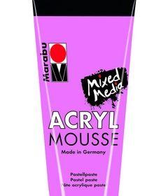 Marabu Mixed Media Acryl Mousse-Rose Pink