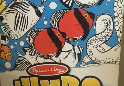 M&D jumbo poster