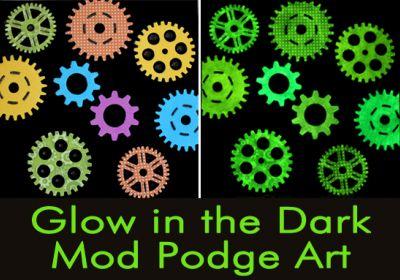 Mod Podge Glow-In-the-Dark 2oz with Applicator