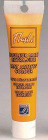 Flashe Mat Color Yellow Ochre