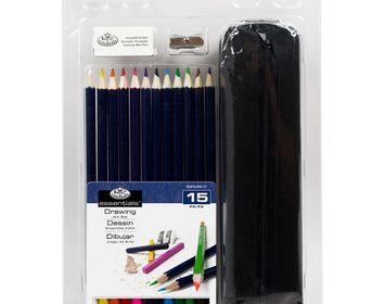 R&L 15 Colored Pencil art set