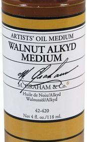 4OZ Walnut Alkyd Oil Med