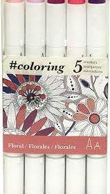 #coloring Floral set 5
