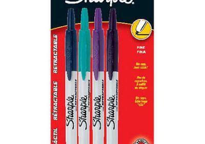 Sharpie retractable 4 color set