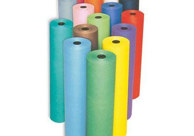 Fadeless Paper Roll Lite Blue 4' x 12'