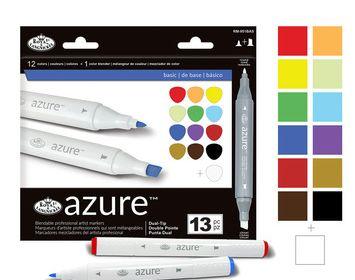 R&L Azure 13 piece marker set