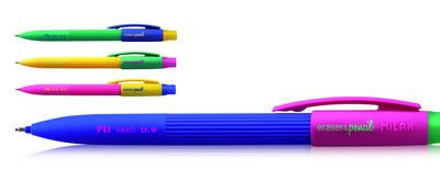Milan .9mm pencil & eraser