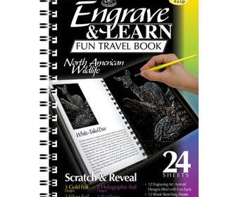 Engrave & learn North American Wildlife