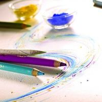 Conte` Pastel Pencil St Michael Green No 144