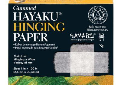 Lineco Gummed Hayaku Hinging Paper