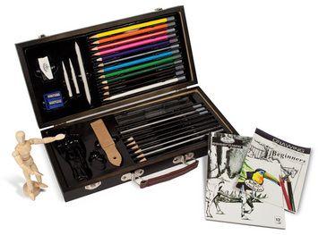 Sketch N Draw Wood Set