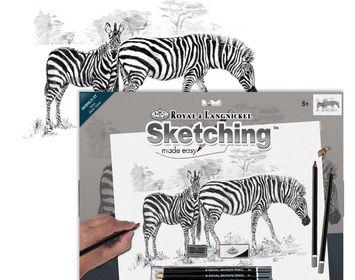 Zebras Large Sketching  Made Easy