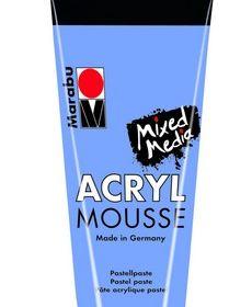 Marabu Mixed Media Acryl Mousse-Lt Lilac