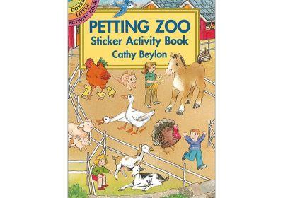 Small Format Sticker Books, Petting Zoo