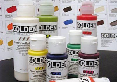 Golden Fluid Titanium White 1 fl oz
