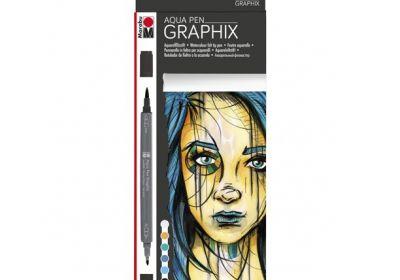 Graphix Aqua Pen 6 Set Metropolitan