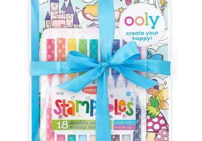 Princess & Fairies Stampables Coloring Giftables Pack