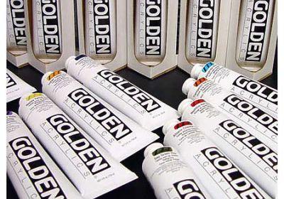 Golden HB Acrylic Nap Rd Med