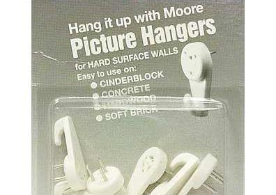 Moore Hard Surface Hanger Set