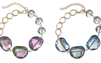 Ganz Style Stones Bracelet