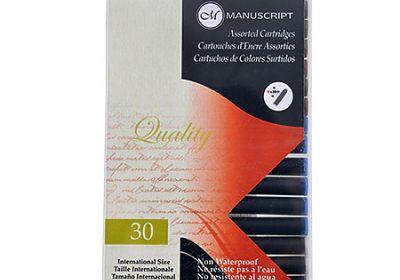 Manuscript assorted ink cartriges