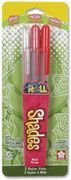 Glaze Shades 3 pen pack Red