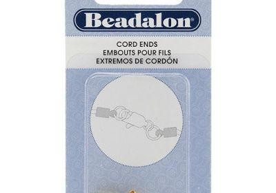 Gold Cord ends 1.8 mm 5pc