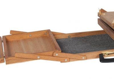 Lyptus Wood Wooden Pastel Case