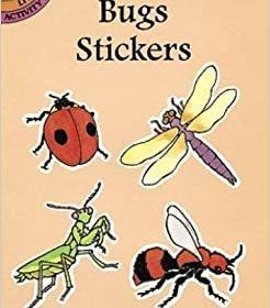 Small Format Sticker Books, Bugs