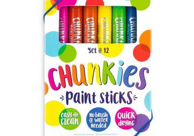 Ooly Chunkies Paint Sticks 12 Set