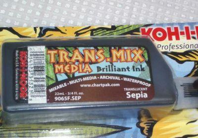 Trans Mix Media Ink Sepia