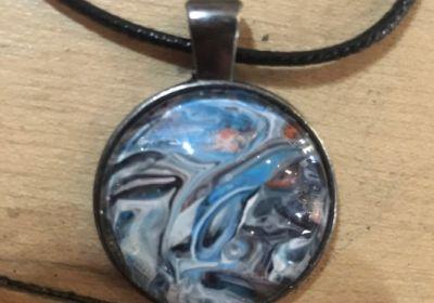 Acrylic Pour Necklace-27