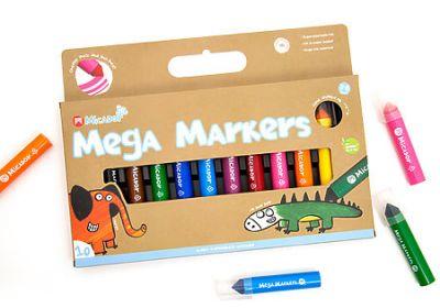 Mega Markers 10-Color Pack, 10-Marker Pack