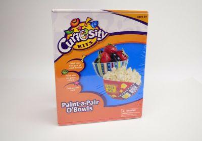Curiosity Kits Paint-a-Pair O'Bowls