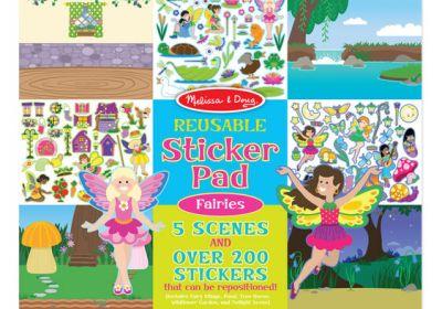 M&D Sticker Pad Fairies