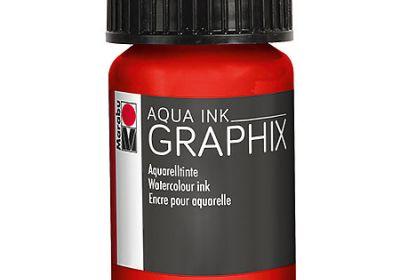Graphix Aqua Ink Carmine Red